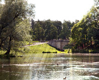 Parque de Gatchina Imagenes de archivo