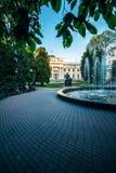 Parque de Gomel no palácio de verão de Paskevich-Rumyantsev belarus Fotos de Stock Royalty Free