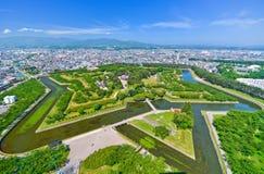 Parque de Goryokaku em Hakodate, Hokkaido, Japão Fotos de Stock Royalty Free
