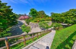 Parque de Goryokaku en verano en Hakodate, Hokkaido, Japón Imagenes de archivo