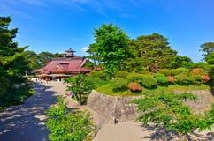 Parque de Goryokaku no verão em Hakodate, Hokkaido, Japão Foto de Stock