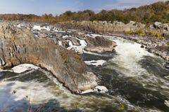 Parque de Great Falls, Virgínia, EUA Fotografia de Stock Royalty Free