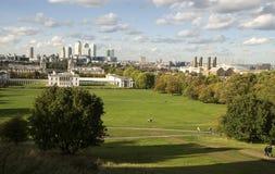 Parque de Greenwich Foto de Stock Royalty Free