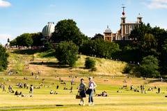 Parque de Greenwich en Londres foto de archivo