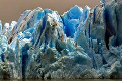 Parque de Grey Glacier Torres del Paine National Fotos de Stock