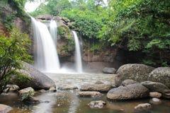 Parque de Haewsuwat da cachoeira Imagens de Stock