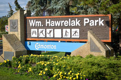 Parque de Hawrelak Imagens de Stock