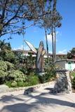 Parque de Heisler de la escultura de la ballena Imagen de archivo libre de regalías