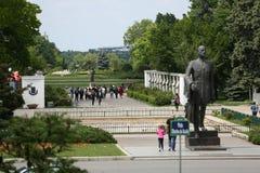 Parque de Herastrau, Bucareste Imagens de Stock