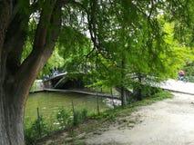 Parque de Herastrau en Bucarest foto de archivo libre de regalías