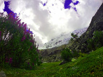Parque de Huascaran imagen de archivo