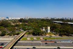 Parque de Ibirapuera, Sao Paulo Fotografia de Stock