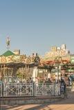 Parque de juegos de los niños en Montevideo Fotos de archivo