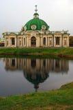 Parque de Kuskovo em Moscou Gruta (1755-61) Fotos de Stock Royalty Free