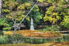 Parque de Kyoto Foto de Stock Royalty Free
