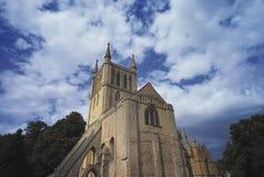 Parque de la abadía de Pershore Fotos de archivo libres de regalías