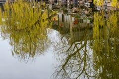 Parque de la acuarela de China Rugao Imagenes de archivo