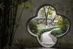 Parque de la acuarela de China Rugao Fotos de archivo libres de regalías