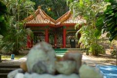 Parque de la amistad china panameña fotografía de archivo
