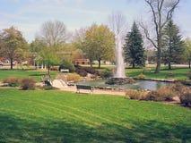 Parque de la cascada imagen de archivo