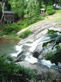 Parque de la cascada en Carolina del Norte Foto de archivo