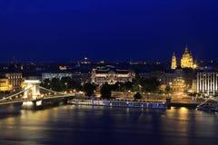 Parque de la ciudad de Budapest en BUDAPEST, HUNGRÍA, 2015 Imágenes de archivo libres de regalías