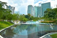 Parque de la ciudad de KLCC Fotos de archivo