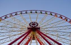 Parque de la ciudad de las atracciones Imagen de archivo libre de regalías