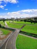 Parque de la ciudad de nueva ciudad de Taipei, Taiwán Imagen de archivo