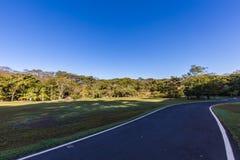 Parque de la ciudad de Ribeirao Preto, aka parque de Curupira Foto de archivo libre de regalías