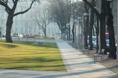 Parque de la ciudad de Viena fotos de archivo