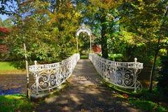 Parque de la ciudad en Baden-Baden, Alemania 01 Imagen de archivo libre de regalías