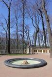 Parque de la ciudad en la primavera Foto de archivo libre de regalías