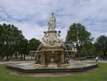 Parque de la ciudad en Nimes Francia Imagenes de archivo