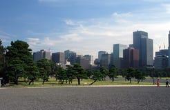 Parque de la ciudad en Tokio Imágenes de archivo libres de regalías