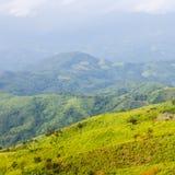 Parque de la colina de la montaña Imágenes de archivo libres de regalías