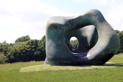 Parque de la escultura de Yorkshire Foto de archivo