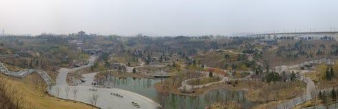 Parque de la expo de Pekín fotografía de archivo