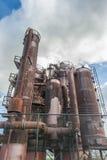 Parque de la fábrica de gas Imagen de archivo