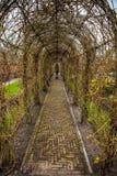 Parque de la flor de Keukenhof en Países Bajos Elementos del diseño del parque Fotos de archivo