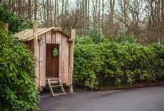 Parque de la flor de Keukenhof en Países Bajos Elementos del diseño del parque Foto de archivo