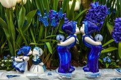 Parque de la flor de Keukenhof en Países Bajos Elementos del diseño del parque Fotos de archivo libres de regalías