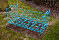 Parque de la flor de Keukenhof en Países Bajos Elementos del diseño del parque Imagen de archivo libre de regalías
