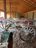 Parque de la herencia de las ruedas de carro Fotografía de archivo libre de regalías