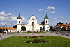 Parque de la iglesia Fotografía de archivo libre de regalías