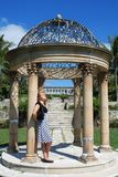 Parque de la isla del paraíso Imagen de archivo libre de regalías
