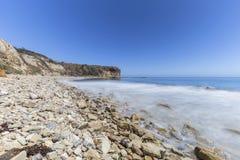 Parque de la línea de la playa de la ensenada del olmo en California Fotografía de archivo