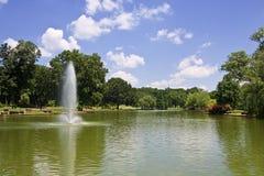 Parque de la libertad en el verano Fotos de archivo libres de regalías