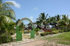 Parque de la locomotora de vapor de Remedios Foto de archivo libre de regalías