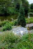 Parque de la O.N.U Blomen de Planten en Hamburgo Fotografía de archivo